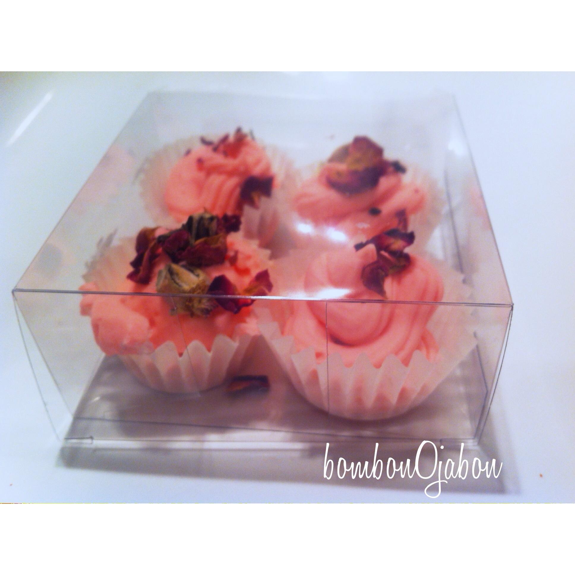 Jabón natural cupcake