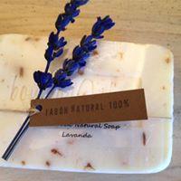 Jabón artesano flor natural
